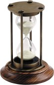 01 reloj arena bronce patinado hg007